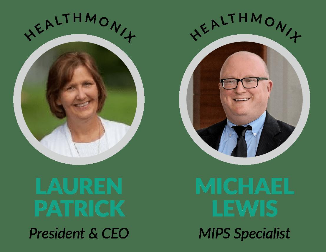 Healthmonix's Lauren Patrick and Michael Lewis